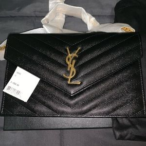 YSL Saint Laurent Small Wallet On Chain